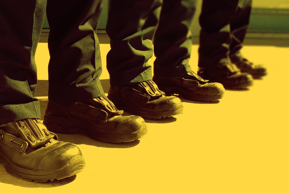 chaussure de sécurité professionnelle
